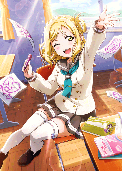 School Idol Tomodachi - Cards Album: Ohara Mari